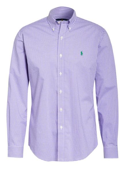 POLO RALPH LAUREN Hemd Custom Fit, Farbe: HELLLILA/ WEISS (Bild 1)