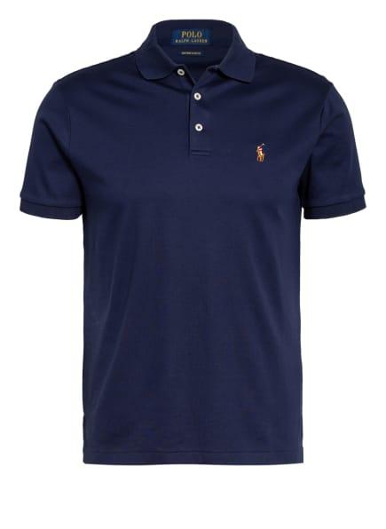 POLO RALPH LAUREN Jersey-Poloshirt Custom Slim Fit, Farbe: DUNKELBLAU (Bild 1)