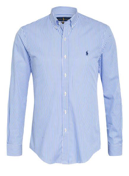 POLO RALPH LAUREN Hemd Slim Fit, Farbe: HELLBLAU/ WEISS (Bild 1)