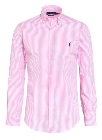 POLO RALPH LAUREN Hemd Slim Fit, Farbe: WEISS/ PINK (Bild 1)