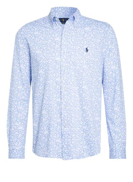 POLO RALPH LAUREN Piqué-Hemd Regular Fit , Farbe: HELLBLAU/ WEISS (Bild 1)