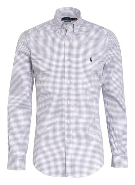 POLO RALPH LAUREN Hemd Slim Fit, Farbe: WEISS/ GRAU (Bild 1)