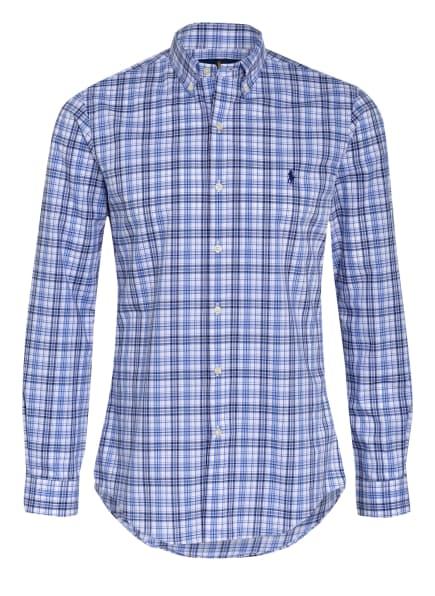 POLO RALPH LAUREN Hemd Slim Fit, Farbe: WEISS/ HELLBLAU/ DUNKELBLAU (Bild 1)
