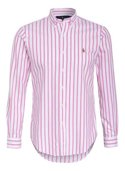 POLO RALPH LAUREN Hemd Slim Fit, Farbe: WEISS/ ROSA (Bild 1)