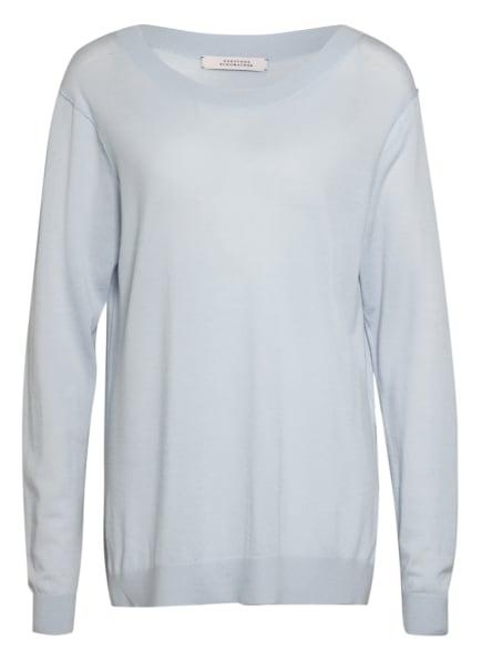 DOROTHEE SCHUMACHER Pullover mit Seide, Farbe: HELLBLAU (Bild 1)