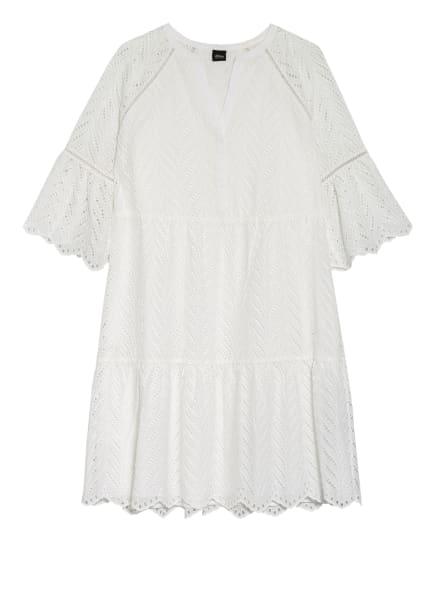 s.Oliver BLACK LABEL Kleid mit 3/4-Arm aus Lochspitze, Farbe: WEISS (Bild 1)