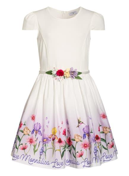 MONNALISA Kleid, Farbe: WEISS/ HELLLILA/ PINK (Bild 1)