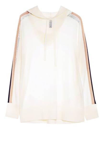 MARC CAIN Pullover mit Galonstreifen, Farbe: 110 off (Bild 1)