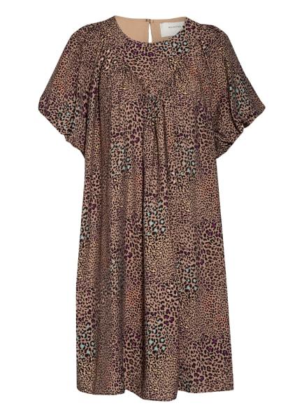 MUNTHE Kleid PALERMO, Farbe: CAMEL/ SCHWARZ/ MINT (Bild 1)