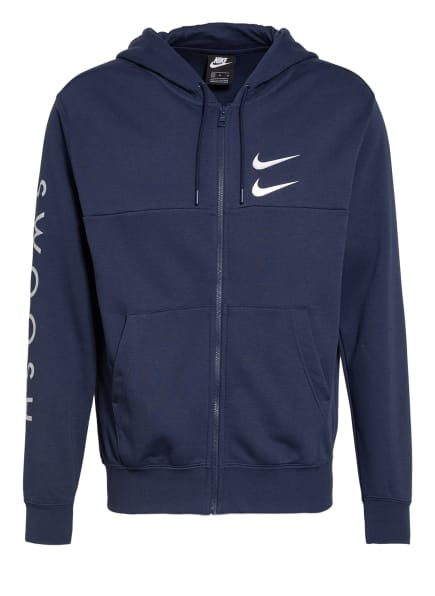 Nike Sweatjacke SPORTSWEAR SWOOSH, Farbe: DUNKELBLAU (Bild 1)