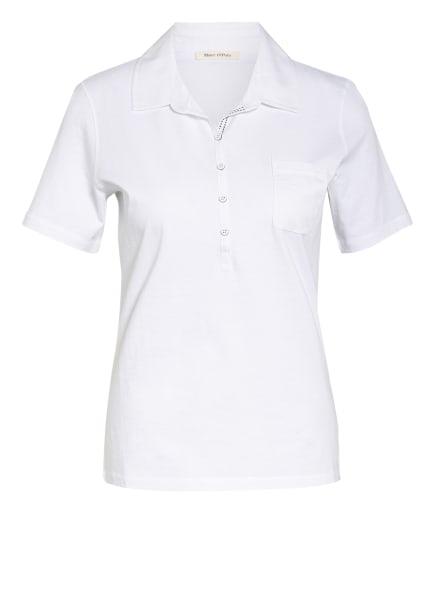 Marc O'Polo Poloshirt, Farbe: WEISS (Bild 1)