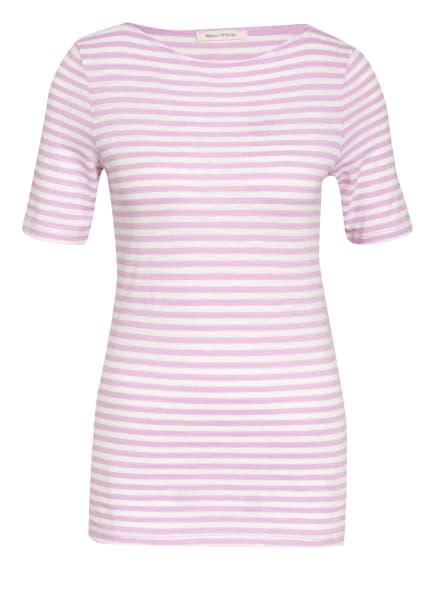Marc O'Polo T-Shirt, Farbe: WEISS/ ROSA (Bild 1)