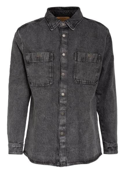 American Vintage Jeans-Overshirt, Farbe: GRAU (Bild 1)