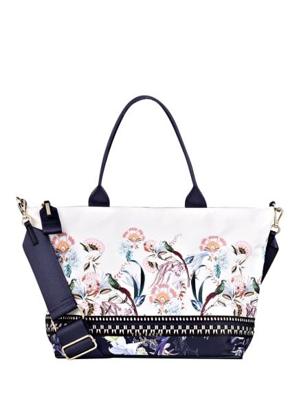 TED BAKER Handtasche DARYA, Farbe: CREME/ DUNKELBLAU (Bild 1)