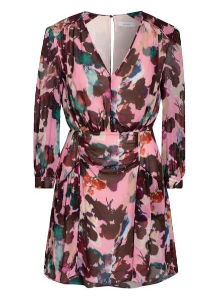 REISS Kleid JOSEPHINE , Farbe: ROSA/ DUNKELROT/ GRÜN (Bild 1)