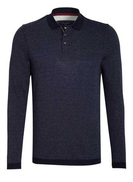 TED BAKER Piqué-Poloshirt NOSNOR , Farbe: DUNKELBLAU (Bild 1)