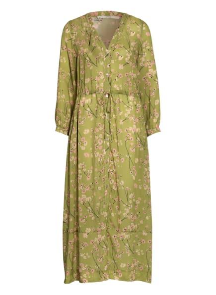 LANIUS Kleid, Farbe: HELLGRÜN/ SCHWARZ/ ROSA (Bild 1)