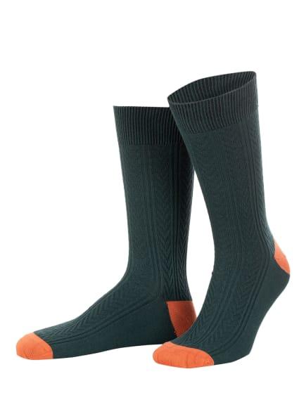 TED BAKER Socken BALWIN, Farbe: OLIVE OLIVE (Bild 1)