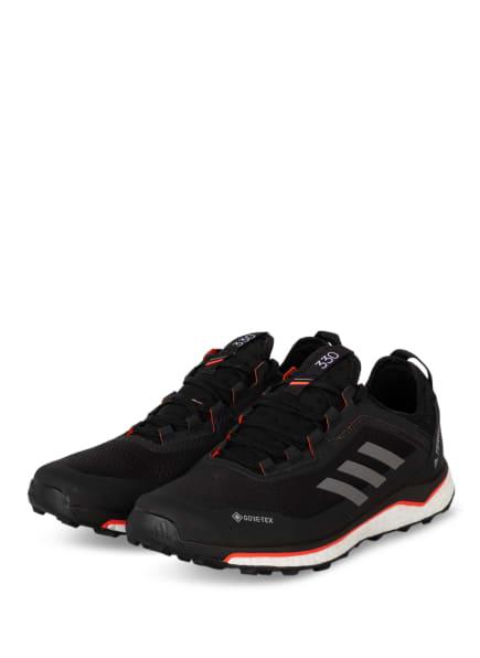 adidas Trailrunning-Schuhe TERREX AGRAVIC FLOW GTX, Farbe: SCHWARZ/ GRAU (Bild 1)