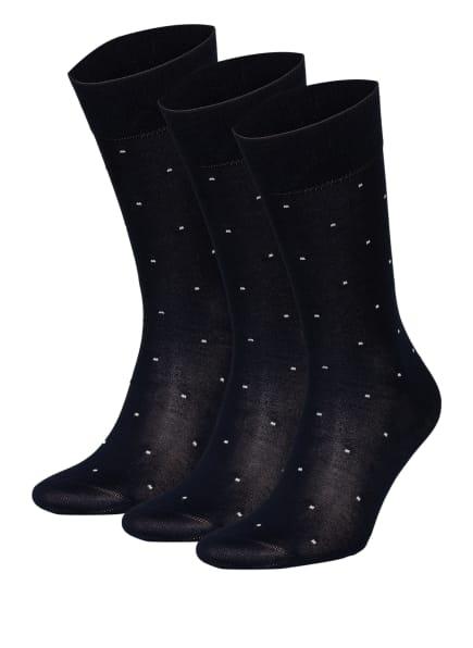 REISS 3er-Pack Socken MARIO mit Geschenkbox , Farbe: 30 navy (Bild 1)