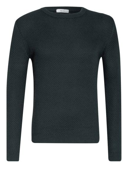 REISS Pullover BRIER, Farbe: DUNKELGRÜN (Bild 1)