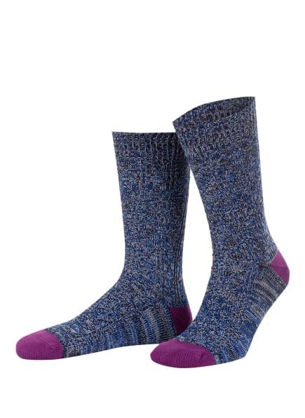TED BAKER Socken SWIRLO, Farbe: BLUE BLUE (Bild 1)