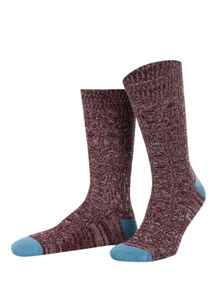 TED BAKER Socken SWIRLO, Farbe: DK-RED DK-RED (Bild 1)
