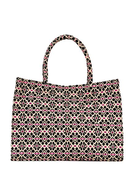 ANOKHI Shopper, Farbe: SCHWARZ/ CREME/ PINK (Bild 1)