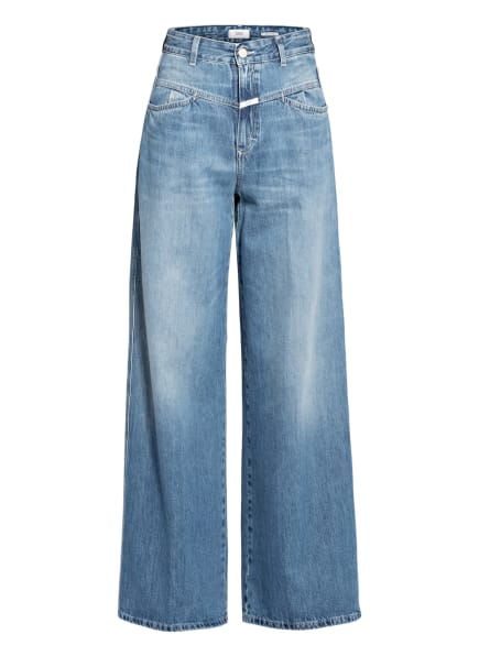 CLOSED Bootcut Jeans WIDE X, Farbe: MBL MID BLUE (Bild 1)