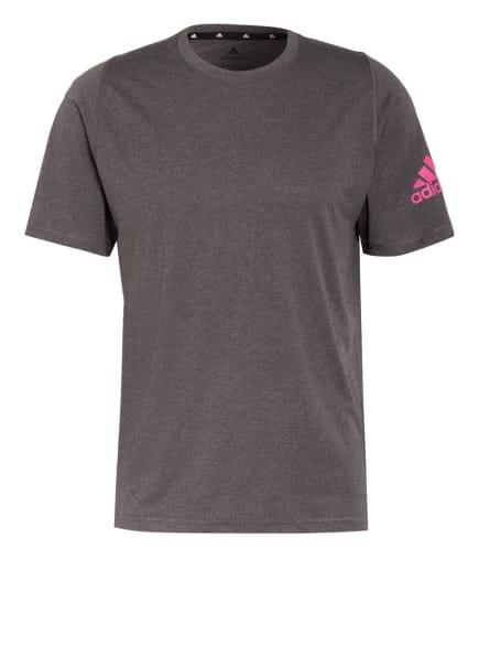 adidas T-Shirt, Farbe: GRAU/ PINK (Bild 1)