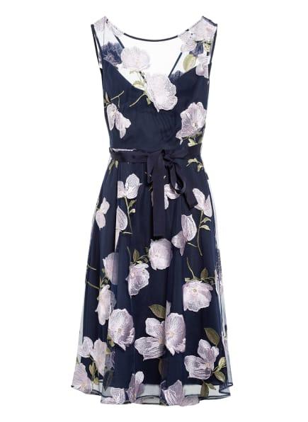 Phase Eight Kleid CHARLOTTE, Farbe: DUNKELBLAU/ HELLROSA/ GRÜN (Bild 1)