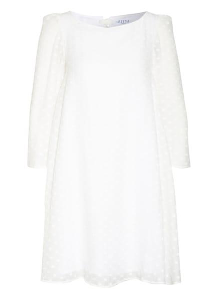 CLAUDIE PIERLOT Kleid RIFIFIFLEURS mit 3/4-Arm, Farbe: WEISS (Bild 1)