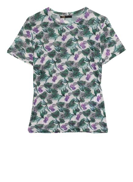 maje T-Shirt THOMASI, Farbe: WEISS/ GRÜN/ LILA (Bild 1)
