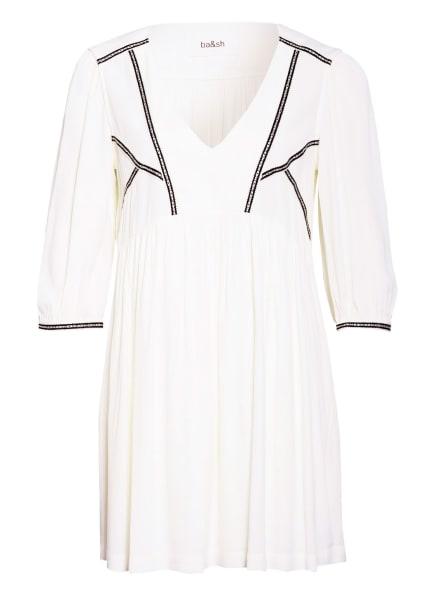 ba&sh Kleid ALMA mit 3/4-Arm , Farbe: ECRU/ SCHWARZ (Bild 1)