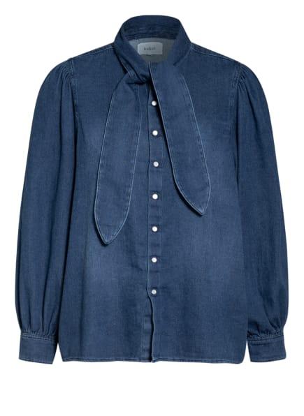 ba&sh Jeans-Schluppenbluse, Farbe: BLAU (Bild 1)