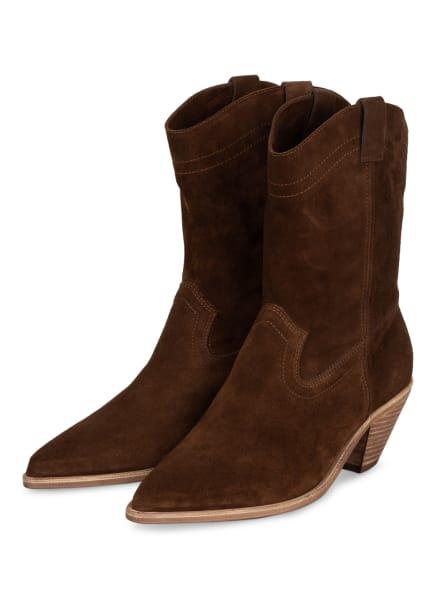 ba&sh Cowboy Boots CLAUDIA, Farbe: DUNKELBRAUN (Bild 1)