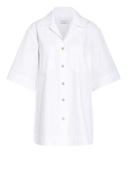 sandro Oversized-Hemdbluse, Farbe: WEISS (Bild 1)