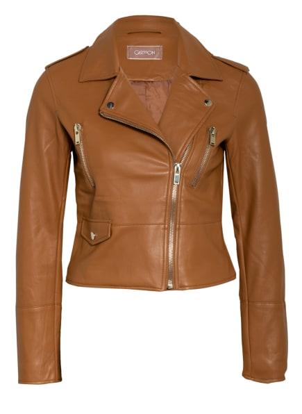 CARTOON Jacke in Lederoptik, Farbe: HELLBRAUN (Bild 1)