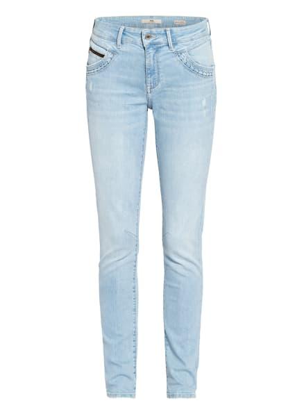 mavi Skinny Jeans NICOLE mit Nietenbesatz, Farbe: 33826 lt bleach memory (Bild 1)