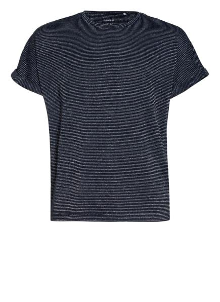 name it T-Shirt mit Glitzergarn , Farbe: DUNKELBLAU/ SILBER (Bild 1)