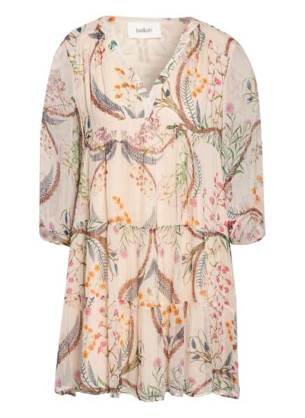 ba&sh Kleid GOYA mit 3/4-Arm, Farbe: ECRU/ ROSA/ GRÜN (Bild 1)