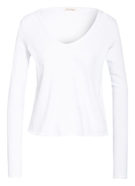 American Vintage Sweatshirt CALEB, Farbe: WEISS (Bild 1)