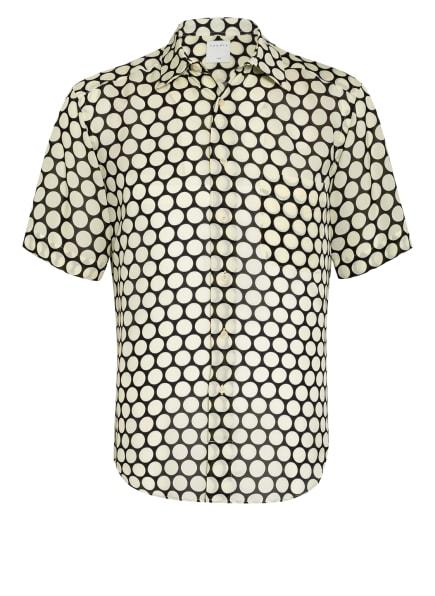 sandro Kurzarm-Hemd Regular Fit, Farbe: SCHWARZ/ HELLGELB (Bild 1)