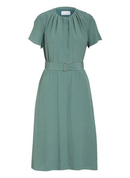 BOSS Hemdblusenkleid DIBANORA mit Seide, Farbe: GRÜN (Bild 1)