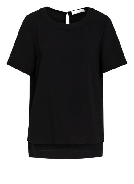 BOSS Blusenshirt ITILA, Farbe: SCHWARZ (Bild 1)