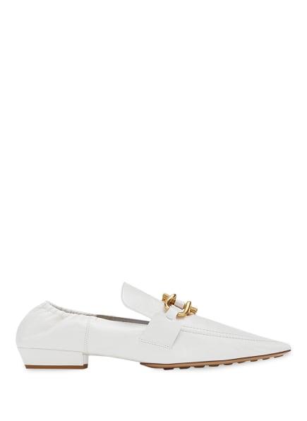 BOTTEGA VENETA Loafer, Farbe: 9122 WHITE -OFF WHITE (Bild 1)
