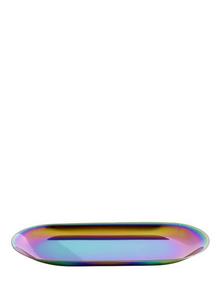 HAY Tablett TRAY S, Farbe: HELLGRÜN/ HELLBLAU/ PINK (Bild 1)