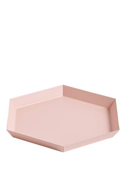 HAY Tablett KALEIDO S, Farbe: ROSA (Bild 1)