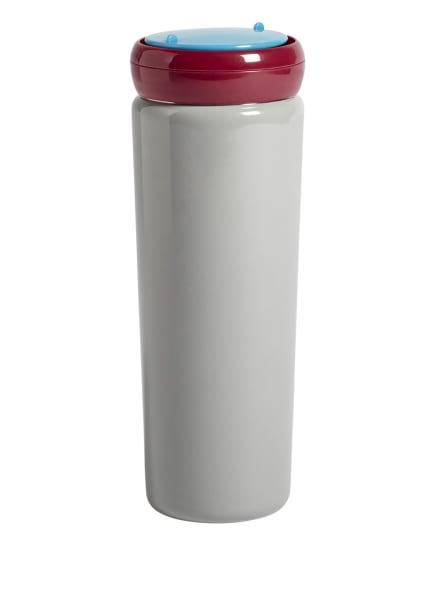 HAY Isolierflasche SOWDEN, Farbe: GRAU/ ROT/ NEONBLAU (Bild 1)