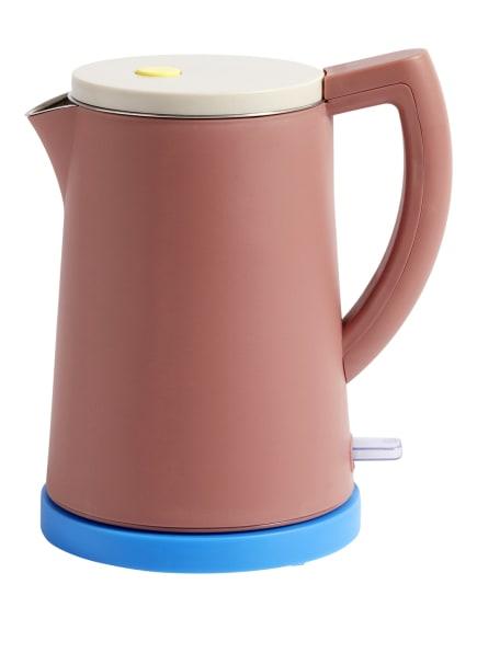 HAY Wasserkocher SOWDEN, Farbe: DUNKELORANGE/ BLAU/ WEISS (Bild 1)